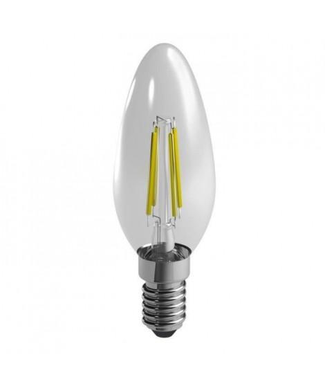 DURACELL Ampoule LED a filaments E14 flamme 4 W équivalence 40 W blanc chaud