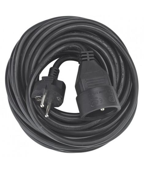 DEBFLEX Rallonge 10 m 16 A noir