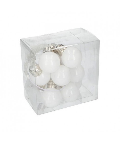 Guirlande lumineuse - 10LED - Ampoules blanches