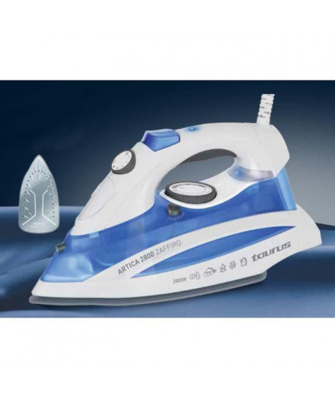 TAURUS 918851000 Fer a repasser Artica Zaffiro - 2800 W - Blanc et Bleu