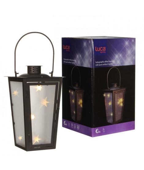 LUCA LIGHTING Lot de 30 Lanternes Marron LED - Blanc Chaud