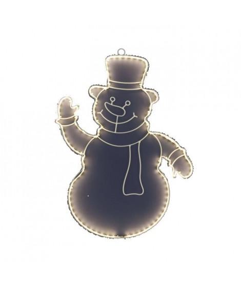 XmasKING Bonhomme de neige LED d'extérieur noël - Blanc chaud - 50 cm