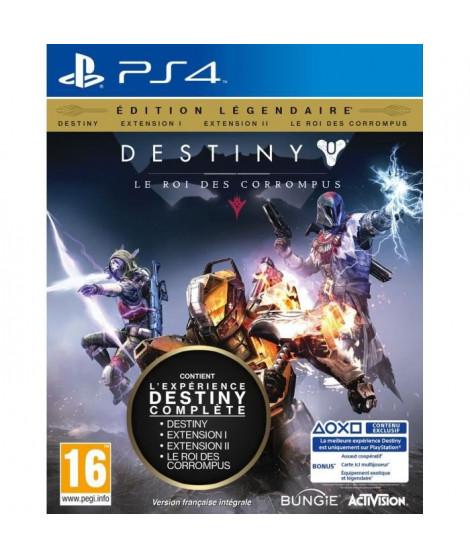 Destiny : le Roi des Corrompus Edition Légendaire Jeu PS4