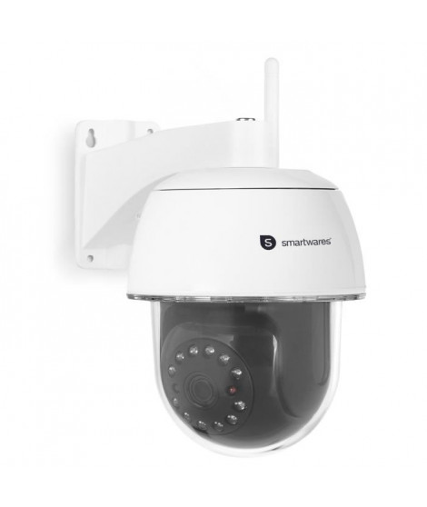 SMARTWARES Caméra de surveillance extérieur motorisée IP Full HD 1080P C994IP
