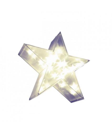 XmasKING Etoile LED d'intérieur noël - Blanc chaud - 35 cm