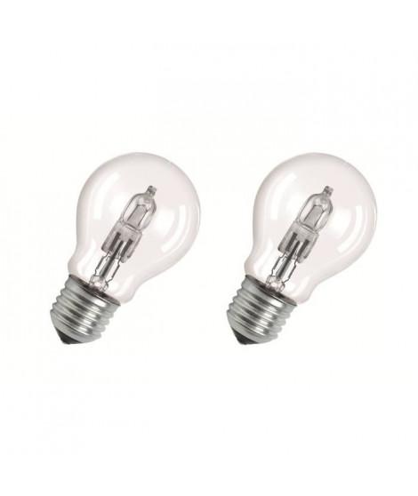 OSRAM Lot de 2 ampoules E27 halogene Classic SuperStar 46W équivalence 60W