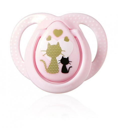 TOMMEE TIPPEE Sucette Moda Close To Nature 0-6m - Fille x1