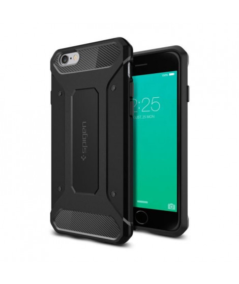 Coque Spigen Rugged Armor iPhone 6/6s noir