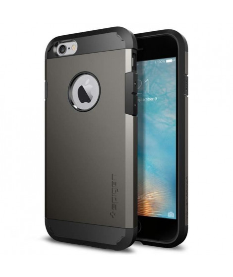 Coque Spigen Tough Armor iPhone 6/6s gun metal