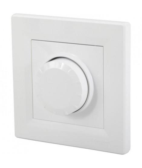 SCHNEIDER ELECTRIC Interrupteur variateur encastrable complet Asfora 600 W
