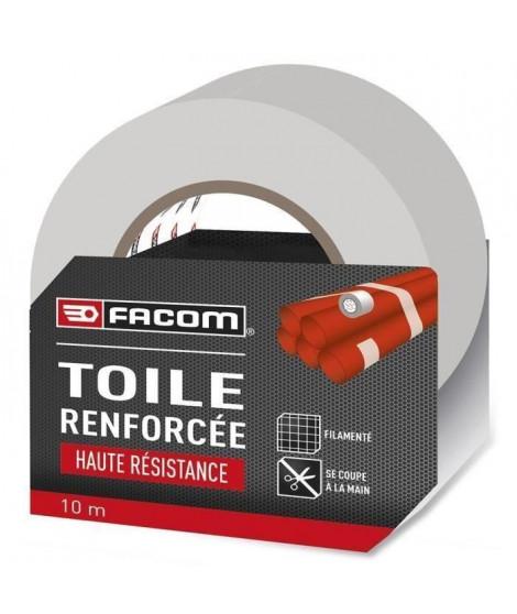 FACOM Adhésif renforcé haute résistance 10m x 48mm blanc