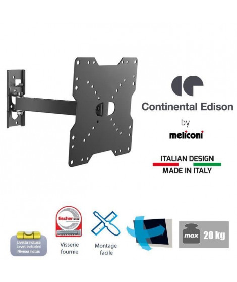 CONTINENTAL EDISON 200NORI12 Support TV orientable
