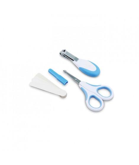 NUVITA BABY Kit de soin ongles pour bébé Bleu