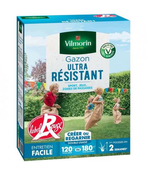 VILMORIN Semences de gazon ultra-résistant Label Rouge - 3 kg
