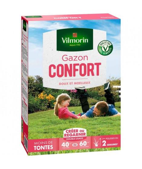 VILMORIN Semences de gazon Confort - 1 kg