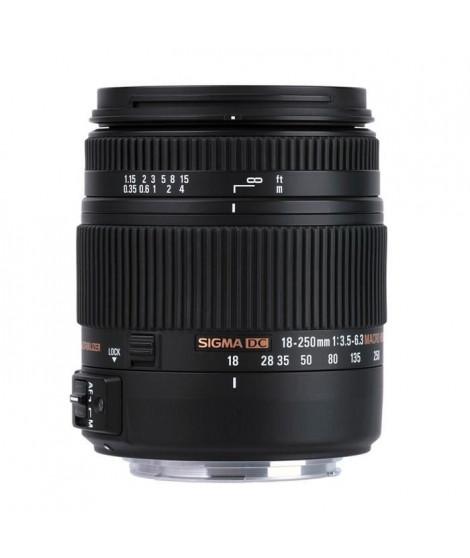 SIGMA 18-250mm F3.5-6.3 DC MACRO OS HSM pour NIKON - Objectif pour Reflex numérique