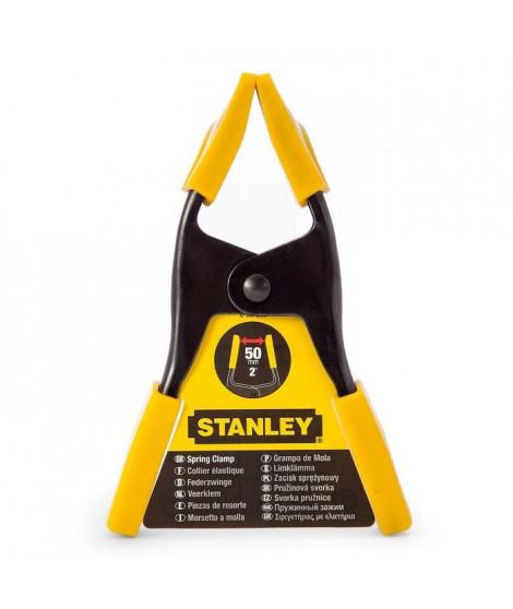 STANLEY Pince a ressort métallique 50mm