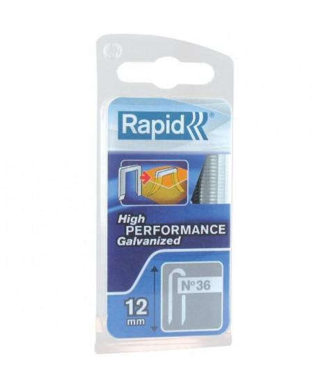 RAPID Agrafes galvanisées pour câbles - N°36/14 mm
