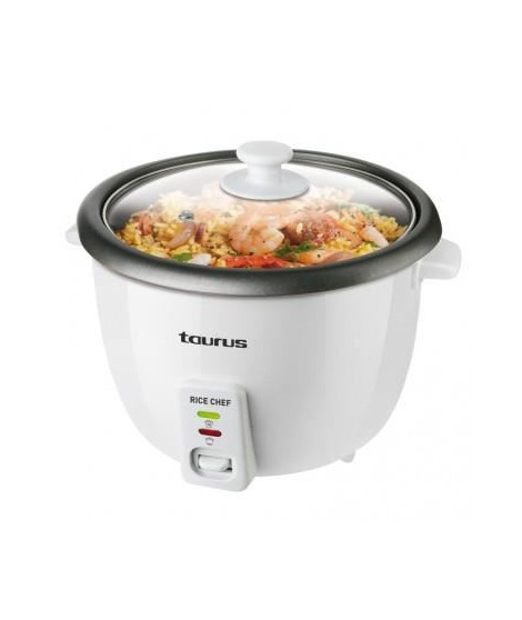 TAURUS Cuiseur a riz Rice Chef - 700 W - 1,8 l