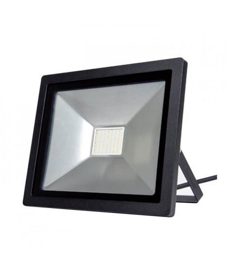 PISCIS Projecteur noir LED intégré 50 w 5100 lumen
