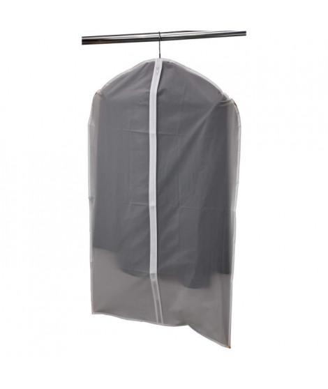MHOME Housse de vetement courte EVE 130 61x102 cm transparent