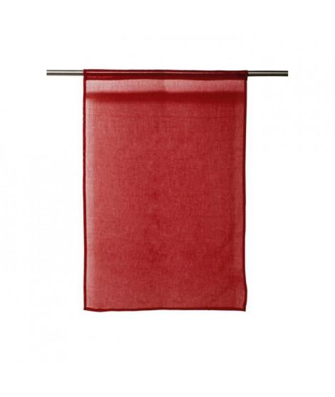SOLEIL D'OCRE Paire de brises bise Panama 60x120 cm rouge