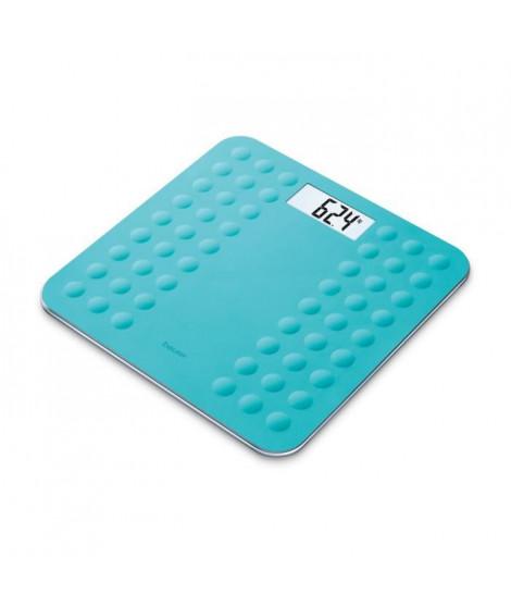 BEURER GS300 Pese-persone et Impédancemetre avec surface en silicone antiglisse - Turquoise