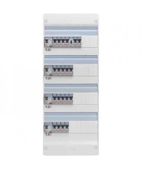 LEGRAND Tableau électrique équipé précâblé Evolué spécial pour logement T5