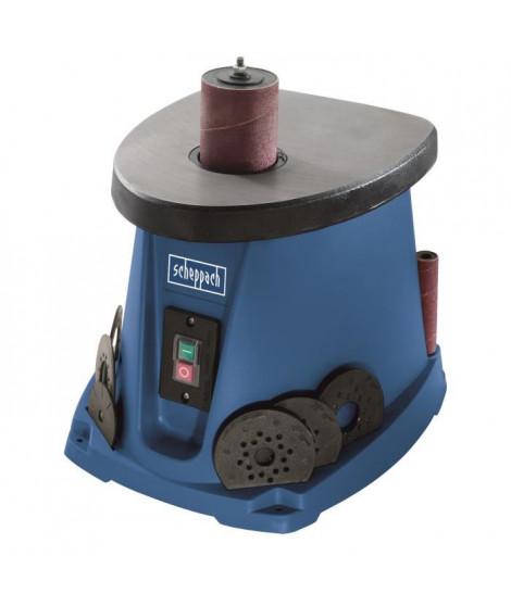 SCHEPPACH Ponceuse oscillante avec manchons abrasifs et cylindres de ponçage 230V OSM 100