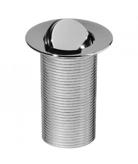 WIRQUIN Bonde lavabo clapet rotatif laiton 100mm