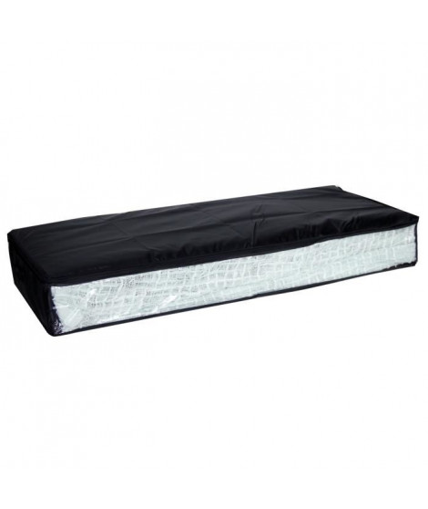 Housse dessous de lit noir