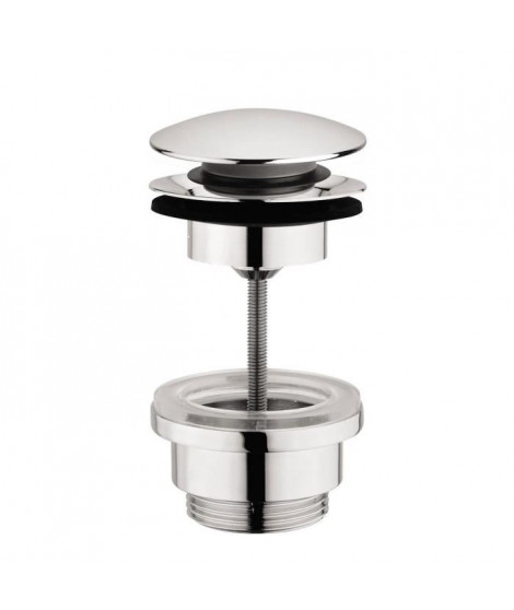 SARODIS Bonde universelle clic-clac en ABS avec clapet Ø6,3cm