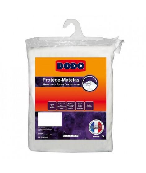 DODO Protege-matelas Améthyste 200x200 cm en forme de drap housse