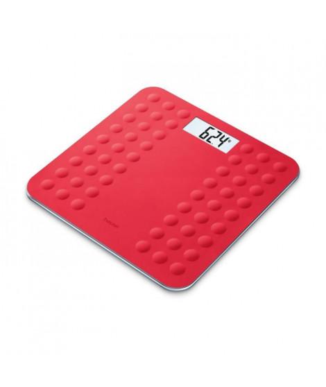 BEURER GS300 Pese-persone et Impédancemetre avec surface en silicone antiglisse - Corail