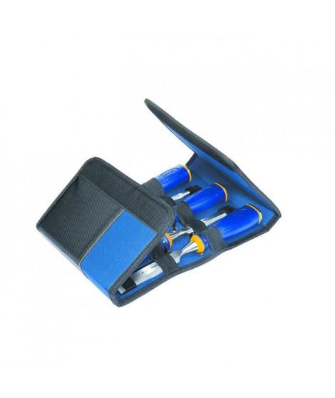 IRWIN Trousse de 5 ciseaux a bois MS500 - 6/10/15/20/25 mm