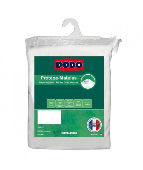 DODO Protege-matelas Jade imperméable 160x200 cm