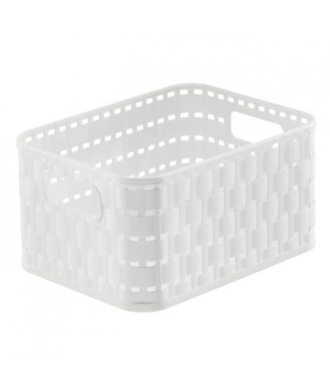 SUNDIS Panier Country 2 L A6 18,3x13,7x9,8 cm blanc