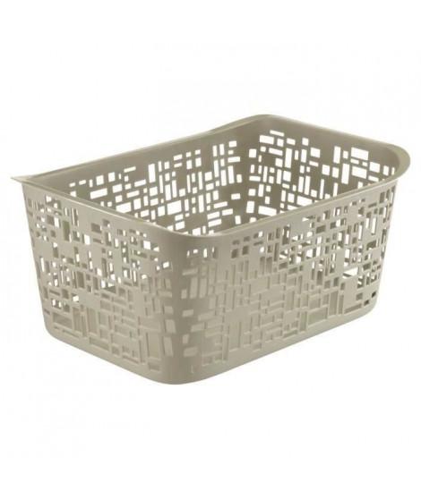 SUNDIS Panier Urban MM 10 L 37x26,8x17,5 cm taupe