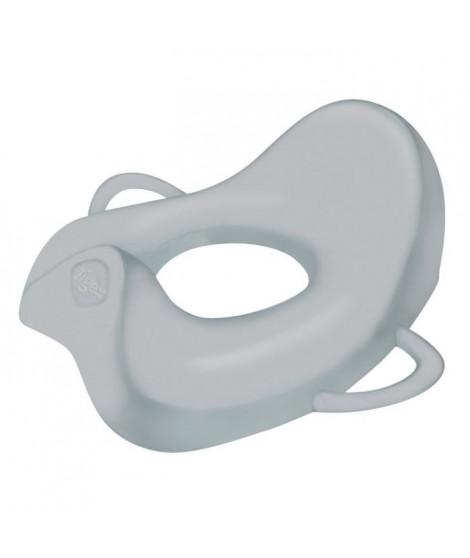 TIGEX Réducteur de Toilette Grand Confort  Anatomy Gris