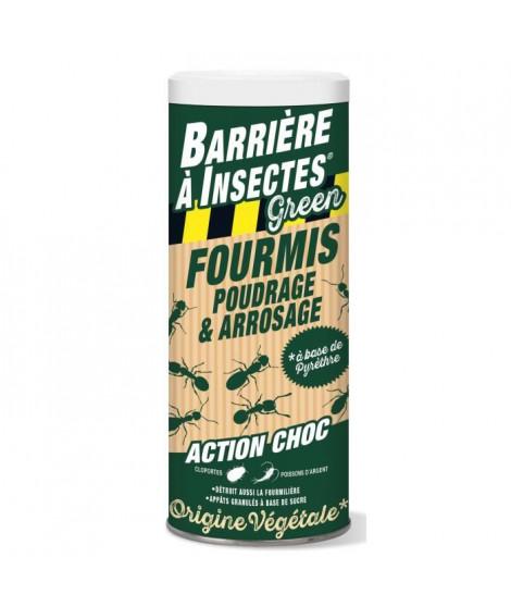 BARRIERE A INSECTES GREEN Appâts granulés anti-fourmis a base de pyrethre végétal - 300 g