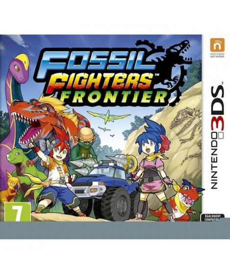 Fossil Fighters Frontier Jeu 3DS