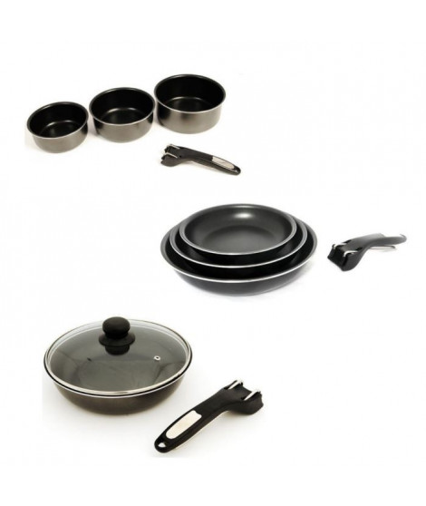 SITRAM Batterie de cuisine 11 pieces INDUCTION