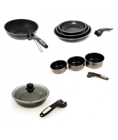 SITRAM Batterie de cuisine 13 pieces INDUCTION