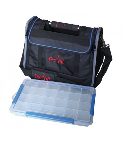 TEC HIT Sac a outils + 1 organiseur avec poignée en alu