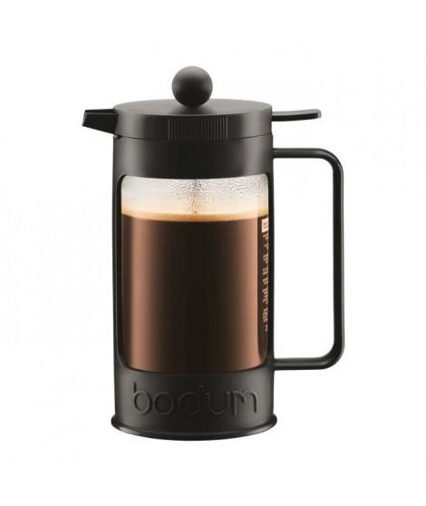 BODUM Cafetiere a piston BEAN capacité 8 tasses 1L noir