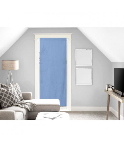 SOLEIL D'OCRE Brise bise Panama - 70x200 cm - Bleu