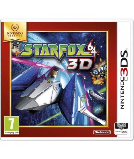 StarFox 64 3D Jeu Select 3DS