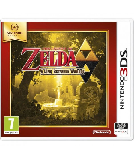The Legend Of Zelda: A Link Between Worlds Jeu Select 3DS