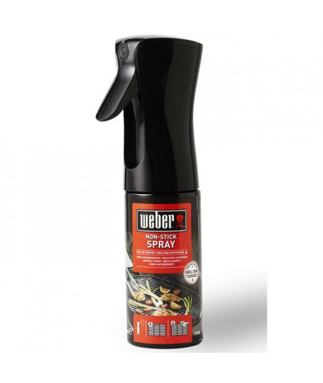 WEBER Huile anti-adhérence pour grille de barbecue - 200 ml