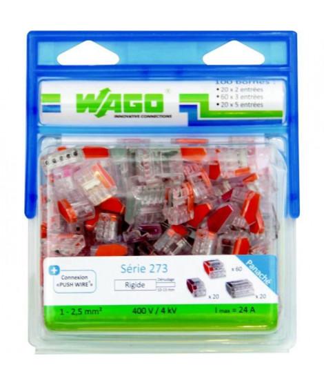 WAGO Pack 100 bornes 273 2-3 et 5